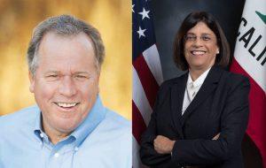 Senator Dodd and Assemblyperson Aguiar-Curry