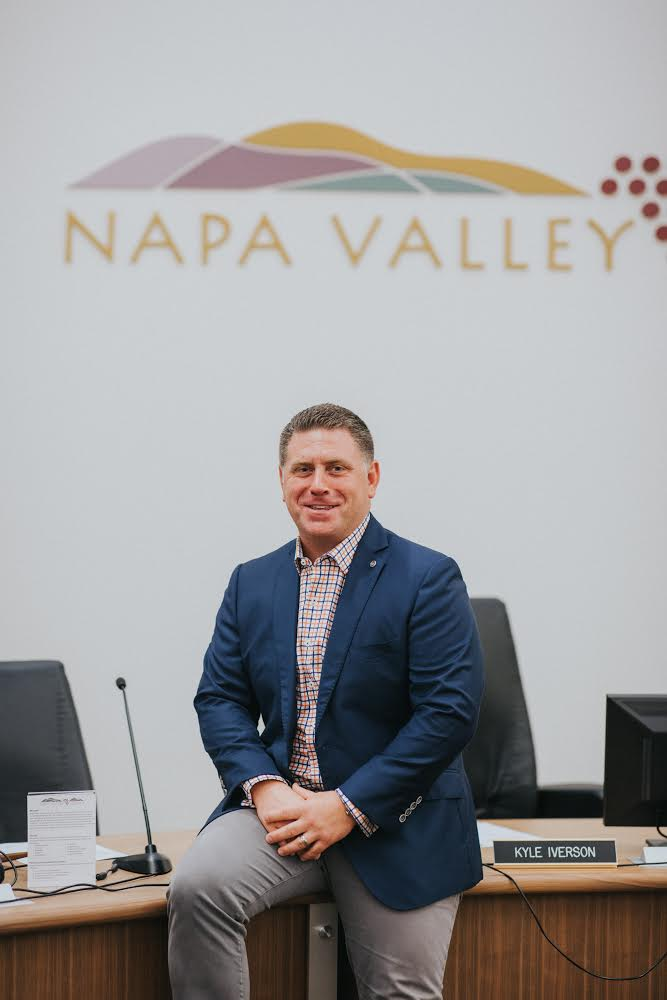 William Kyle Iverson, Napa Valley College Board Trustee, District 4