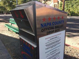 Napa County Ballot Dropbox
